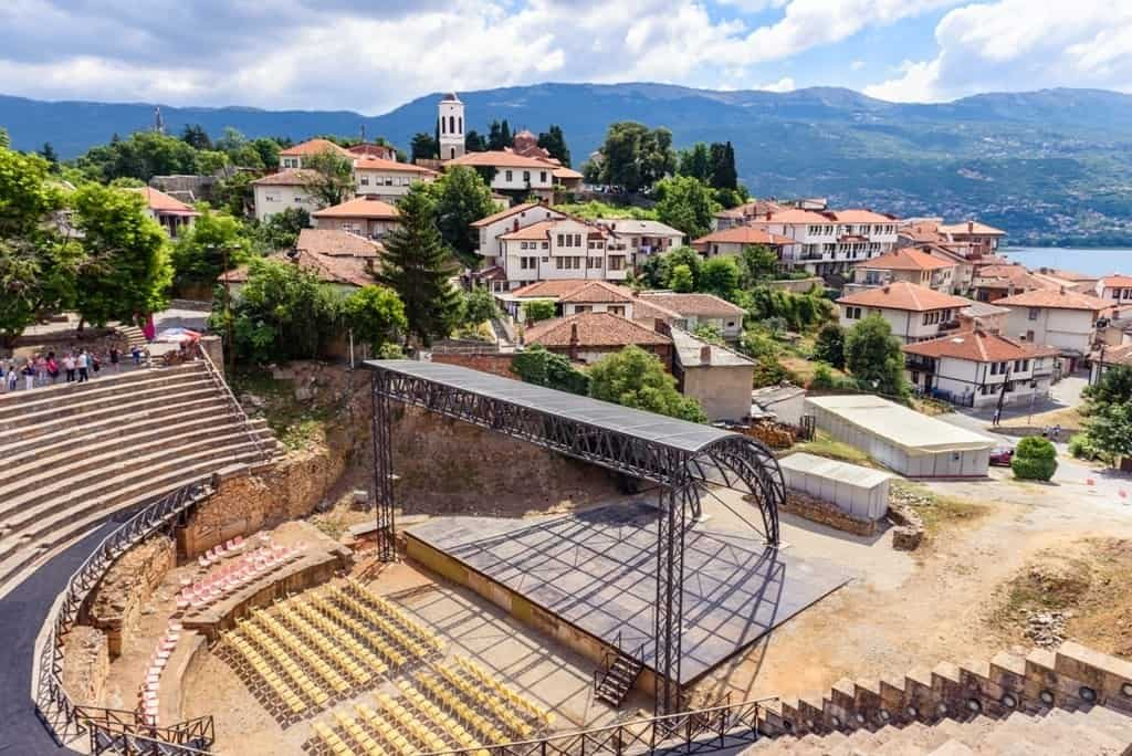 ancient theater ohrid