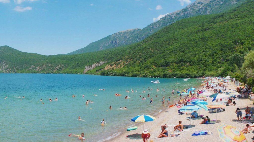 ohrid beach