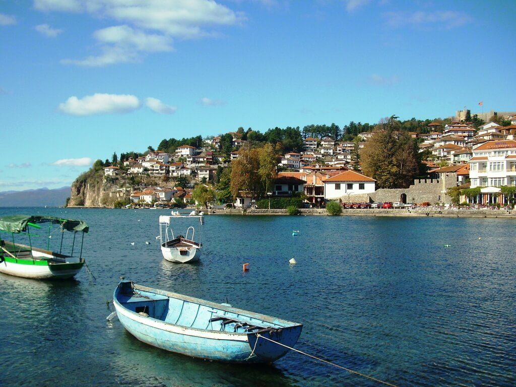 boat ride on ohrid lake