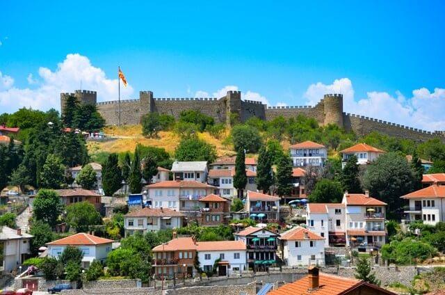samuel fortress ohrid