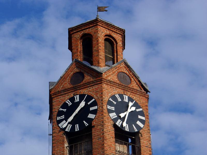 clock tower in prishtina